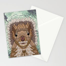 Ornate Squirrel Stationery Cards