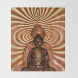 BUDDHA Throw Blanket