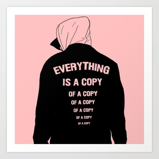 A Copy Art Print