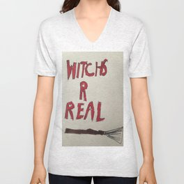 Witches are Real Unisex V-Neck