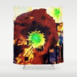 Les coquelicots [2] Copper tremens Shower Curtain