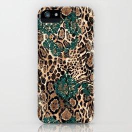Leopard Power iPhone Case