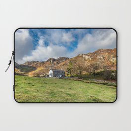 Crafnant Lake Cottage Laptop Sleeve