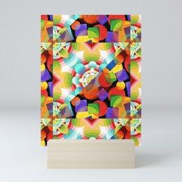 Prismatic Rainbow Mini Art Print