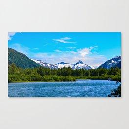Portage Valley Summer - I Canvas Print