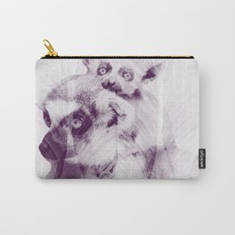 Happy Mother's Day - Lemur - maki catta Carry-All Pouch