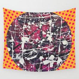 Hopkin's Bedtime - Polka dot Wall Tapestry