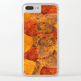 Autumn moods n.1 Clear iPhone Case