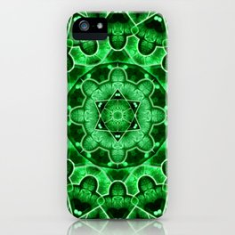 Gem Star Mandala iPhone Case