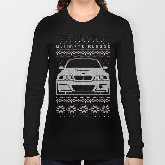 E46 Ugly Christmas Sweater Long Sleeve T-shirt by Ultimate Klasse ...