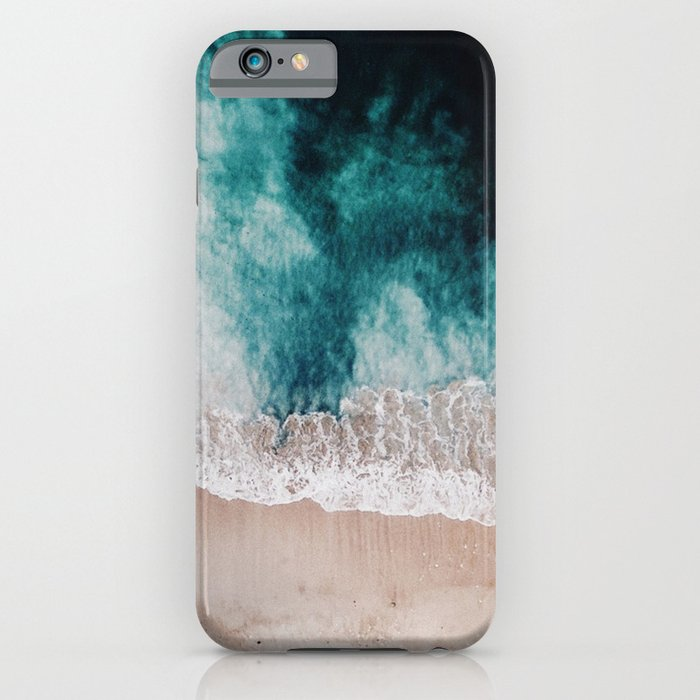 ocean (drone photography) iphone case