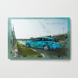 car art Metal Print