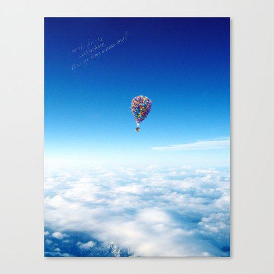Glamorous Sky Canvas Print