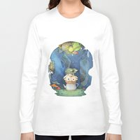 over the garden wall Long Sleeve T-shirts featuring Over the Garden Wall by zaMp