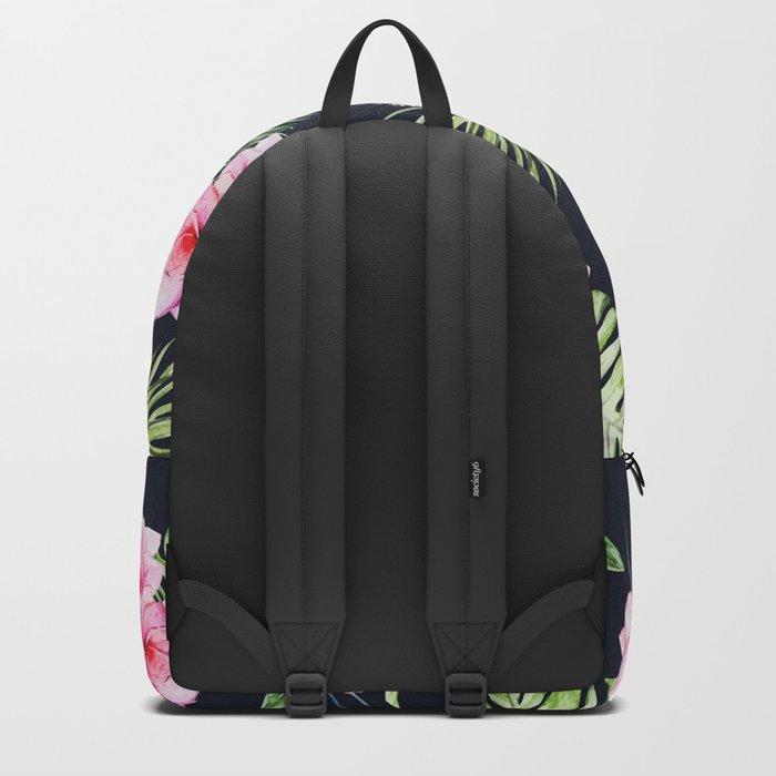 Tropical Bird Pattern 08 Backpack