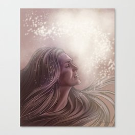 love and light // paige turco Canvas Print