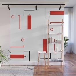 Bauhaus Geometric Modern Art Wall Mural