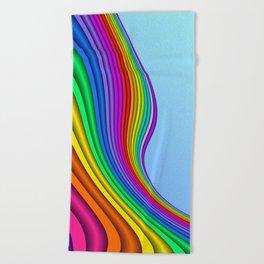 fluid -14- Beach Towel