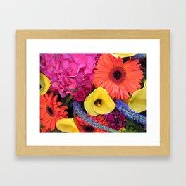 Floral Arrangement Framed Art Print