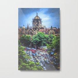 Chhatrapati Shivaji Terminus 2 Metal Print