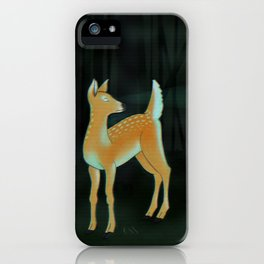 forest fawn iPhone Case