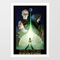 The Last Stand of Alderaan Art Print