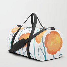Silly Poppies Duffle Bag