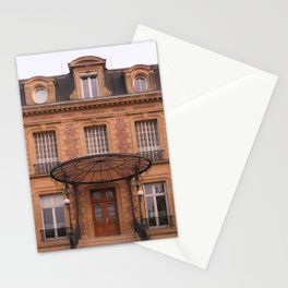 Facade at sunset I Charleville-Mézières, France I European architecture I Street photography Stationery Cards