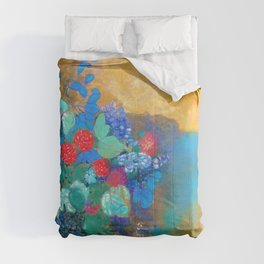 Odilon Redon - Ophelia in the flower - Digital Remastered Edition Comforters