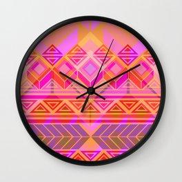 Geo-lucha Wall Clock