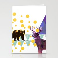 wildlife Stationery Cards featuring wildlife by the coulsons