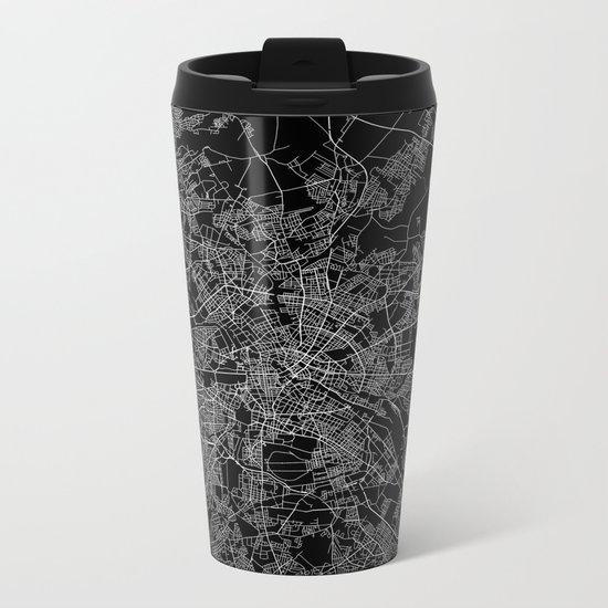 Berlin map Metal Travel Mug