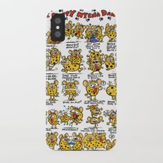 Happy Hyena Dance Slim Case iPhone X