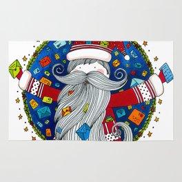Santa Claus Rug