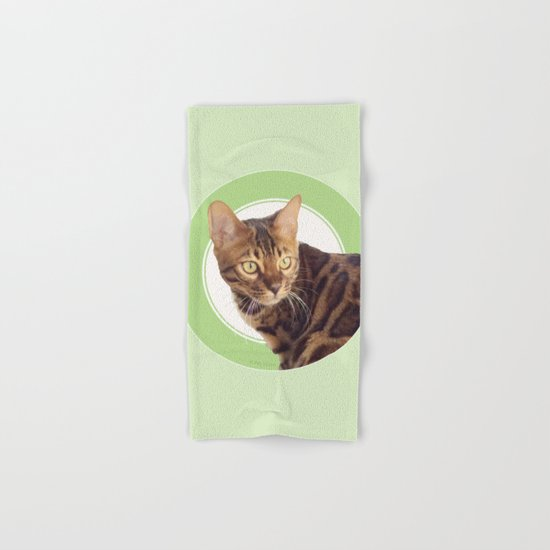 Boris the cat - Boris le chat Hand & Bath Towel
