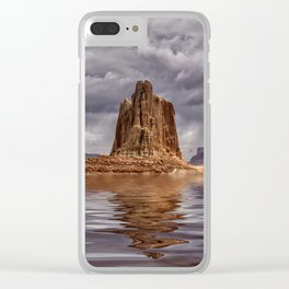 Lake Powell Clear iPhone Case