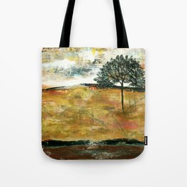 I Will Remember, Rustic Landscape Tote Bag