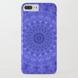 Cosmos Mandala II Cobalt Blue iPhone Case