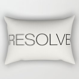 Resolve Rectangular Pillow