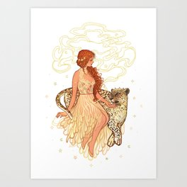 Ariadne & Dionysus Art Print