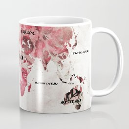 world map 26 Coffee Mug