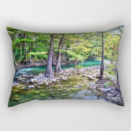 Guadalupe River Texas Rectangular Pillow