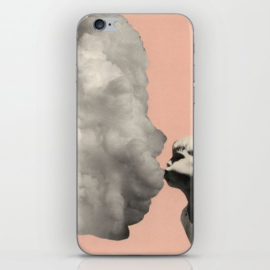 Exhalation iPhone Skin