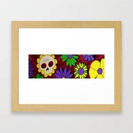Flower Deck Framed Art Print