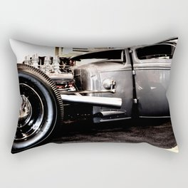 Hot Rod Coupe Rectangular Pillow