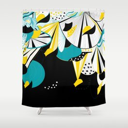 Japan Style 2 Shower Curtain