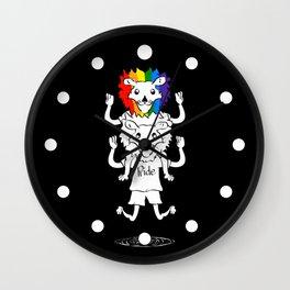 Gay Pride Lions Wall Clock