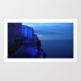 Polignano blu Art Print