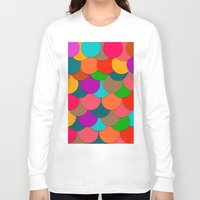 circles Long Sleeve T-shirts featuring Circles.  by Eleaxart