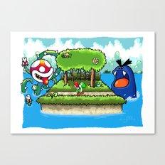 A Yoshi's Story Canvas Print